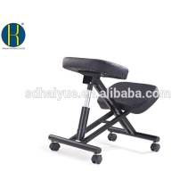 HY5001 Ergonomic Kneeling Chair, Adjustable Stool For Home and Office - Improve Your Posture With an Angled Seat - Thick Comfort